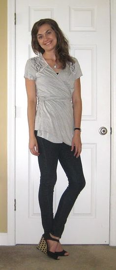 DIY shirt rehab - more pics on blog. Super easy & adorable!