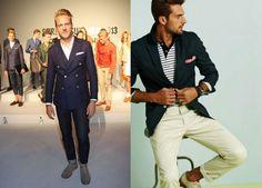 5 Ways To Wear A Blue Blazer For Men