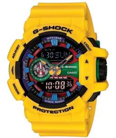 3fdaaffbdb0 Casio-G-Shock-Analogico-Digital-Multi-Color-200M-