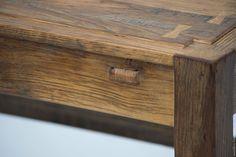 Купить Стол из винтажного дуба - коричневый, стол, стол из дуба, дубовый стол