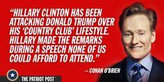 Conan O'Brien — The Patriot Post