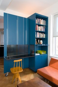 Furniture on wheels -- what a great idea!