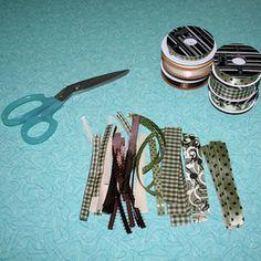 Cut Your Ribbon Pieces