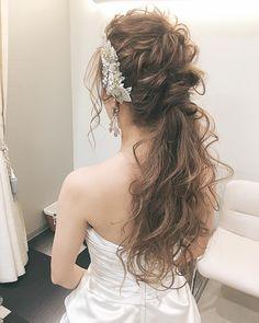 二次会ヘア✨✨ weddingheir