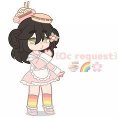🍜🌈🌸 Club Face, Cute Art Styles, Club Design, Anime Girl Drawings, Club Outfits, Aesthetic Anime, Emoji, Chibi, Disney Characters