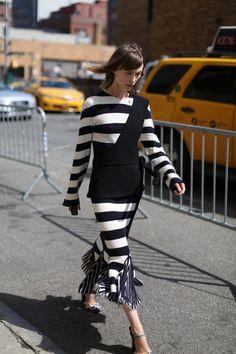 Stylist Anya Ziourova #NYFW