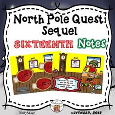 If you are looking for a fun review game to reinforce ta/ti-ti, quarter rest, half and grouped sixteenth notes or just want (or need) a fun, quick, no-prep Christmas themed activity this resource will be immensely popular with your young students! It comes with two game versions (16 total rhythms) in PDF form for your students to listen to and identify as they help Santa find the bag of toys he lost.