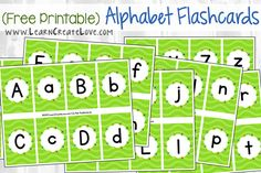 Printable Letter Match Flashcards