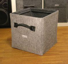 Filz Regalkorb Schrankkorb Ordnungshelfer Korb Kiste passend für Ikea Expedit