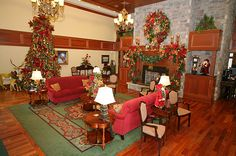 The Inn at Christmas Place in Tennessee - where's it's Christmas all year long!