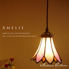 stained glass pendant lights | Rakuten: Stained-glass 1-light pendant light-antique-lamps-classic ...