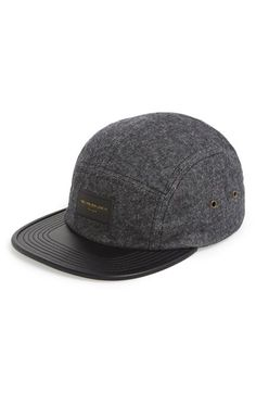 668bb20e4c9 caps hats beret · Free shipping and returns on Obey  Hanover  Five Panel Cap  at Nordstrom.com