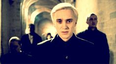Draco looks so lost here, it breaks my heart =(. But I think Draco was lost most of the time. He just held it in so well until the Half-blood Prince.