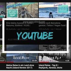 Willkommen in meiner Welt auf YouTube! VLOGs meiner Reisen oder auch einfach von einem ganz normalen Tag, Gedanken, Talkvideos und sonst einfach alles, was eben gerade interessant ist. :)