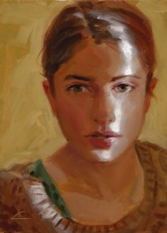 John Larriva ---Slice of Sunshine - Original Oil Painting