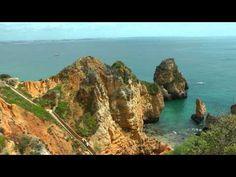 ▶ PORTUGAL: spectacular coast of southwest Algarve (HD-video) - YouTube