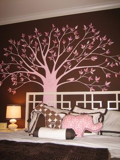 "I want this tree in the ""cozy kids rooms......... or maybe just my room"" on the wall with the bed!!!!! So cute"