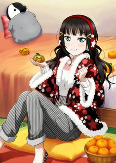 Anime Play, Anime Art, Live Girls, Girls Dream, Beautiful Anime Girl, Anime Love, Manga Girl, Love Live Nozomi, Dia Kurosawa