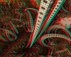 Elevator to the center of Nibiru Anaglyph by Osipenkov on DeviantArt 3d Foto, Acid Art, 3d Pictures, Photos, 3d Glasses, Glitch Art, Stuff And Thangs, Fractal Art, Fractals