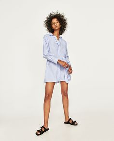 ZARA - WOMAN - BELTED MINI DRESS