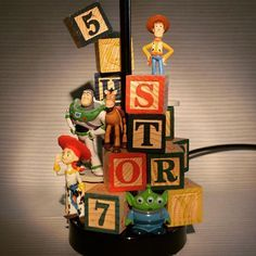 Ideas kids room disney toy story for 2019 Toy Story Nursery, Toy Story Bedroom, Toy Story Baby, Disney Pixar, Disney Diy, Disney Crafts, Disney Lamp, Toy Story Crafts, Disney Bedrooms