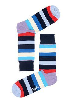 HAPPY SOCKS Stripe - Socken - Mehrfarbig - Planet Sports