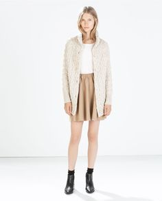 Obsessed with the long knit from Zara for the fall/winter months
