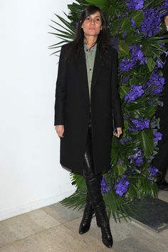 Emmanuelle Alt Photo - Givenchy: Front Row - Paris Fashion Week Fall/Winter 2012