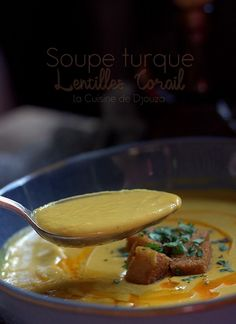 Turkish soup of coral lentils Lentils, Food Videos, Vegan Recipes, Food And Drink, Menu, Yummy Food, Cooking, Ethnic Recipes, Room Interior