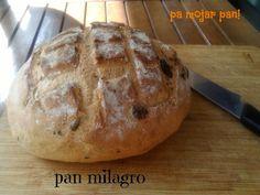 pa mojar pan!: Tosta Mediterrania con pan de aceitunas
