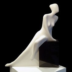"""Sasha"" cultured marble by Robert Kelly"