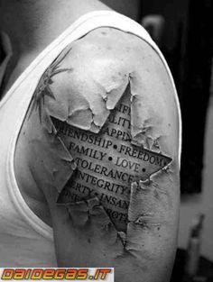 Tatuaggi incredibili belli o strani compilation - DaiDeGas Forum