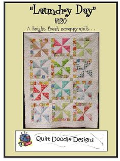 Looking for your next project? You're going to love Laundry Day #120 by designer Quilt Doodle. - via @Craftsy
