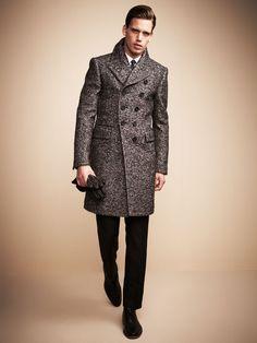 Prorsum Twill Overcoat by Burberry Prorsum on Gilt.com