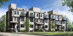 The Towns on the Ravine Low-Rise Apartment 35 53 Valley Woods Rd Toronto, Ontario Fairview Mall, Seneca College, Student House, North York, Downtown Toronto, Renting A House, Townhouse, Locker Storage, The Neighbourhood