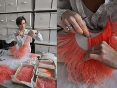 Découverte d'un métier d'art : le plumassier Artiste : Nelly Saunier Plus d'info ici: