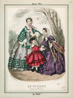 Le Follet, April 1861