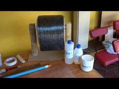 Como hacer tubos de fibra de carbono (método artesanal)