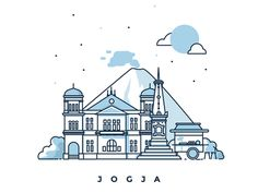 Yogyakarta - Illustration