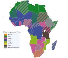 Language map of the world language map of the world shows some of official languages of africa gumiabroncs Gallery