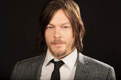 Actor Norman Reedus is photographed for Los Angeles Times on April 23 2014 in Los Angeles California PUBLISHED IMAGE CREDIT MUST BE Kirk McKoy/Los...