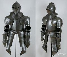 17th century, cuirassier armor