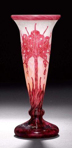 Art Nouveau, Art Deco, Hurricane Glass, Glass Art, Crystals, Tableware, Design, Home Decor, Vintage