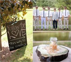 Rustic Park Wedding - Rustic Wedding Chic