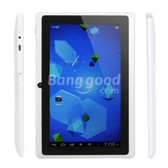 Q8 Boxchip A13 Cortex A8 1.5GHz 7 Inch Android 4.0 4GB Tablet PC Free Shipping!  - US$66.09