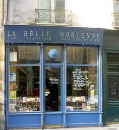 Bookstore Guide: La Belle Hortense, rue Vieille du Temple, Paris