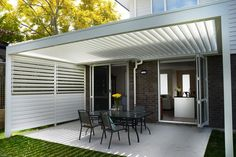 glasscon retractable louvered roof system for atriums patios pergolas opening waterproof. Black Bedroom Furniture Sets. Home Design Ideas