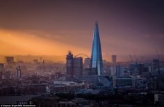 The Shard looms large over Tower Bridge and the Thames in this Stephen Bright photo of London's changing skyline The Shard, London Photos, Urban Landscape, Staycation, Tower Bridge, Great Britain, San Francisco Skyline, Scenery, Europe