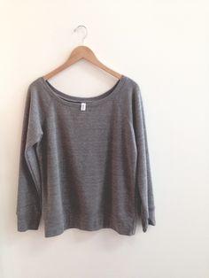 Ladies Gents, Your Boyfriend, Bella Canvas, Wardrobe Staples, American Apparel, Off The Shoulder, Cozy, Sweatshirts, Simple