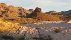Red Desert Rocks Sunset